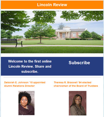 Lincoln Review Newsletter