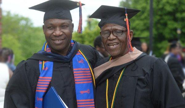 Two Lincoln graduates